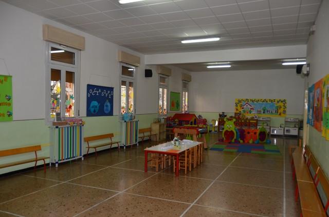 Salone dell'accoglienza e sala giochi